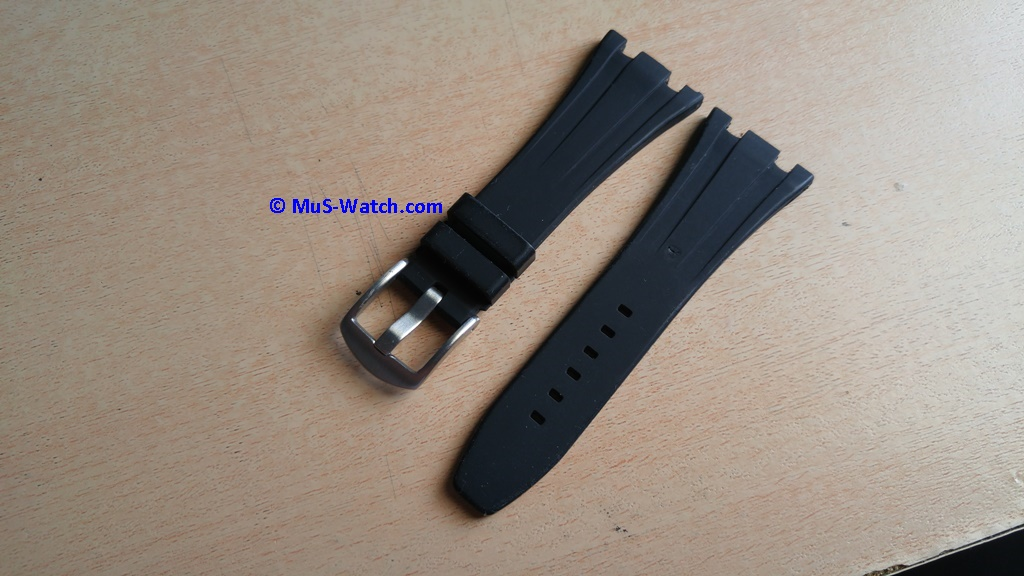 Sold Aftermarket Ap Bands Black Rubber Strap For Ap